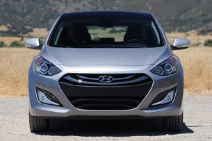 2013 Hyundai Elantra GT front view