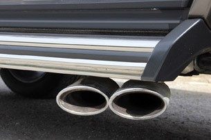 2013 Mercedes-Benz G63 AMG exhaust tips