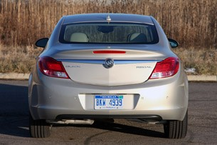 2012 Buick Regal eAssist rear view