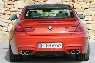 2013 BMW M6 rear view