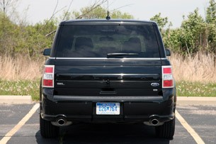 2013 Ford Flex rear view