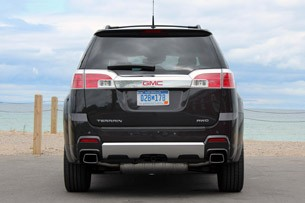 2013 GMC Terrain Denali rear view