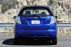 2013 Honda Fit EV rear view