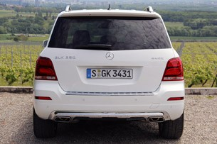 2013 Mercedes-Benz GLK rear view