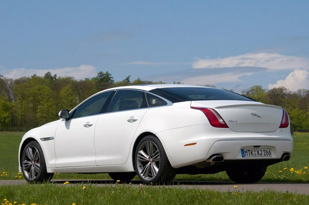2012 Jaguar XJ Sport and Speed
