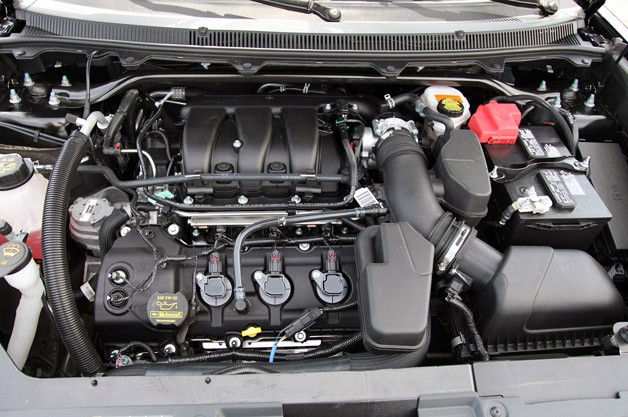 2013 Ford Flex engine