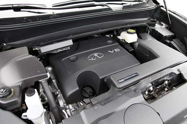 2013 Infiniti JX35 engine