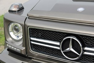 2013 Mercedes-Benz G63 AMG grille