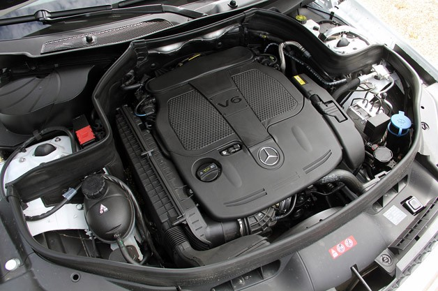 2013 Mercedes-Benz GLK engine