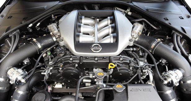 2012 AMS Alpha 12 GT-R engine