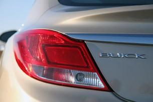 2012 Buick Regal eAssist taillight
