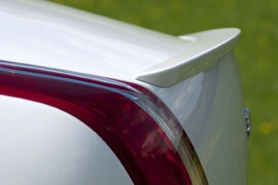 2012 Jaguar XJ Sport and Speed rear wing