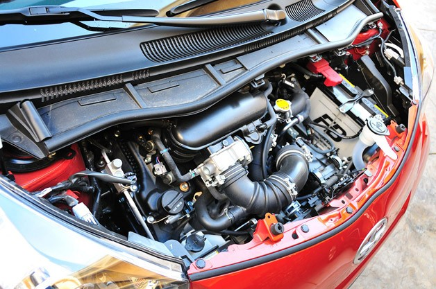 2012 Scion iQ engine