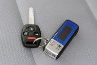 2013 Honda Fit EV key fob