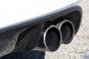 2012 Jaguar XKR-S exhaust tips