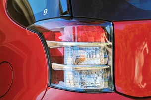 2012 Scion iQ taillight