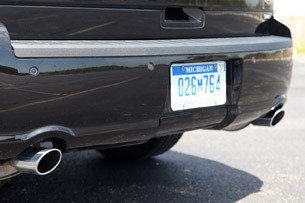 2013 Ford Flex rear bumper