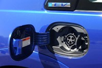 2013 Honda Fit EV charging port