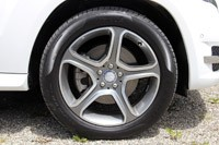 2013 Mercedes-Benz GLK wheel