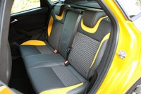 2013 Ford Focus ST rear seats