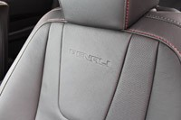 2013 GMC Terrain Denali seat detail