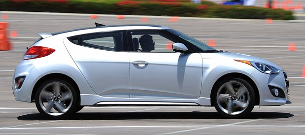 2013 Hyundai Veloster Turbo autocross