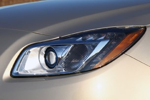 2012 Buick Regal eAssist headlight