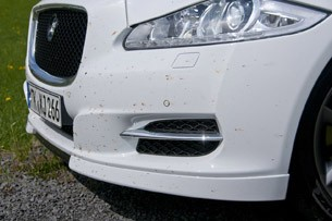 2012 Jaguar XJ Sport and Speed front fascia