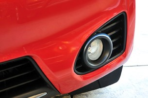 2012 Scion iQ fog light