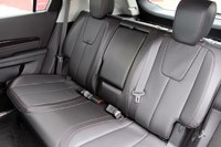 2013 GMC Terrain Denali rear seats