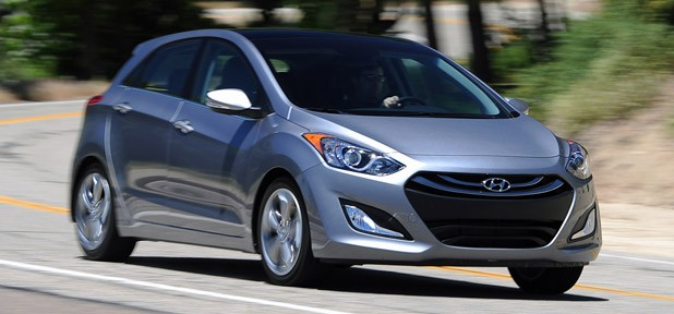 2013 Hyundai Elantra GT driving