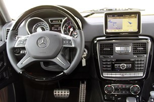 2013 Mercedes-Benz G63 AMG interior