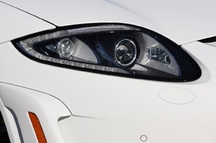 2012 Jaguar XKR-S headlight