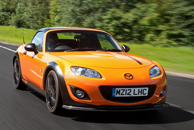 Mazda MX-5 GT Concept - orange - dynamic front three-quarter view