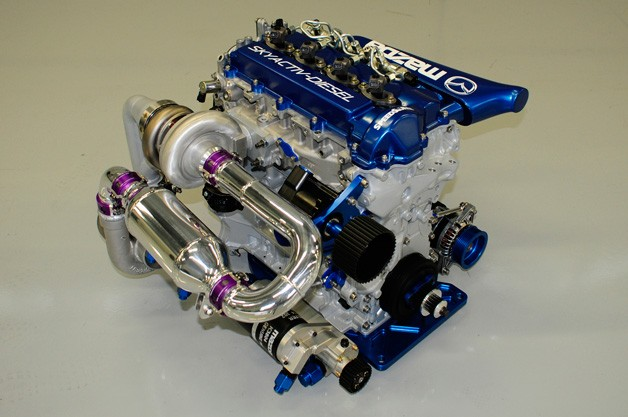 Mazda Racing Skyactiv-D Diesel Engine