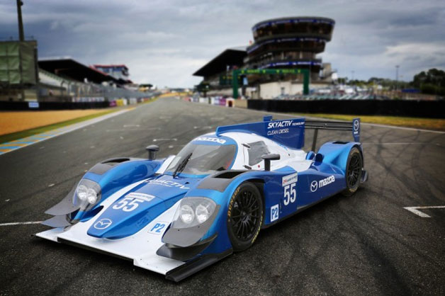 Mazda Skyactiv-D diesel to power Dempsey Racing LMP2 challenger at Le Mans - Autoblog Green