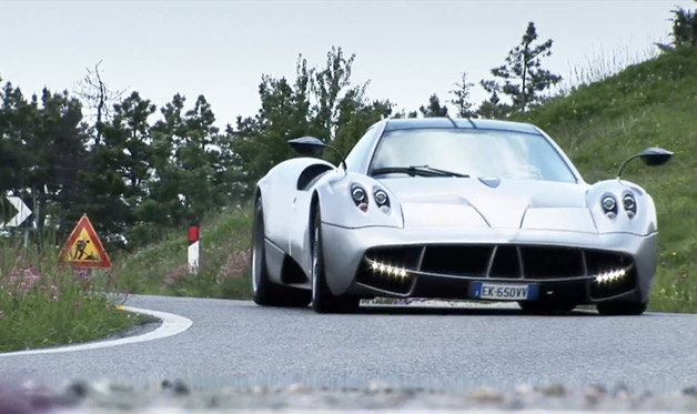 Pagani Huayra EVO video screencap