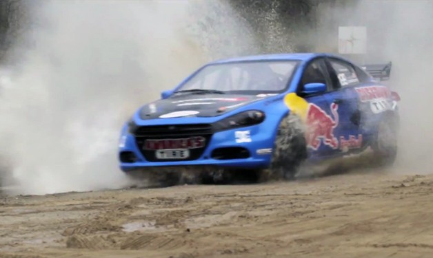 Travis Pastrana Dodge Dart rally car