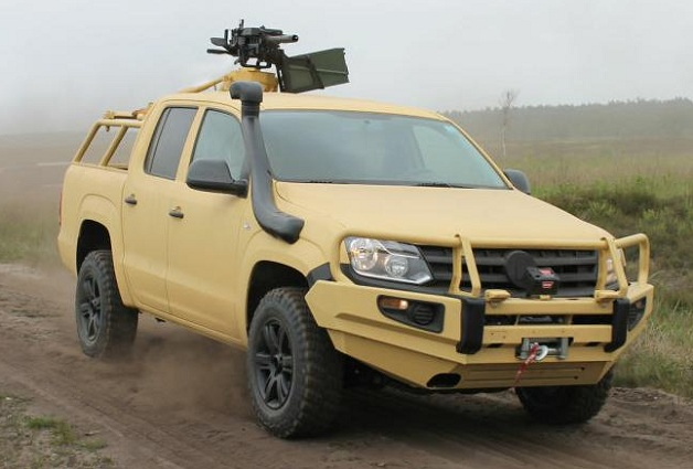 Rheinmetall Volkswagen Amarok LMPV