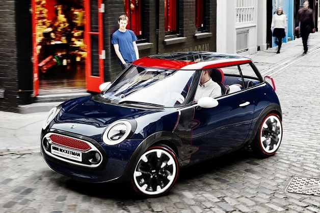 Mini Rocketman concept (2012 London Olympics)