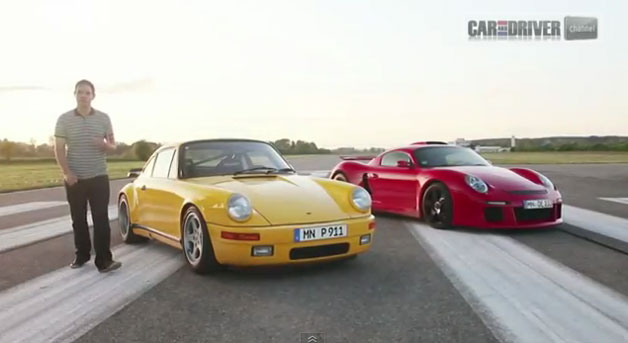 Car and Driver with Ruf Yellowbird and CTR3