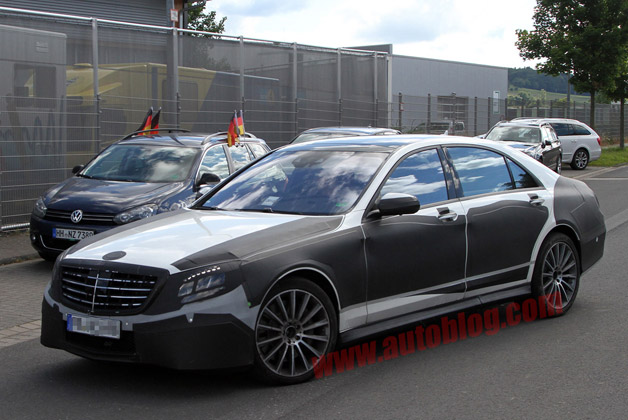 Mercedes-Benz S-Class AMG spy shot