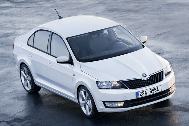 Škoda reveals latest Rapid