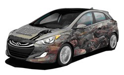 The Walking Dead Hyundai Elantra