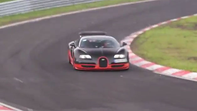 bugatti veyron super sport on 39 ring for record attempt. Black Bedroom Furniture Sets. Home Design Ideas