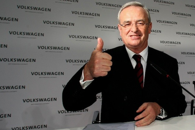 Martin Winterkorn Volkswagen