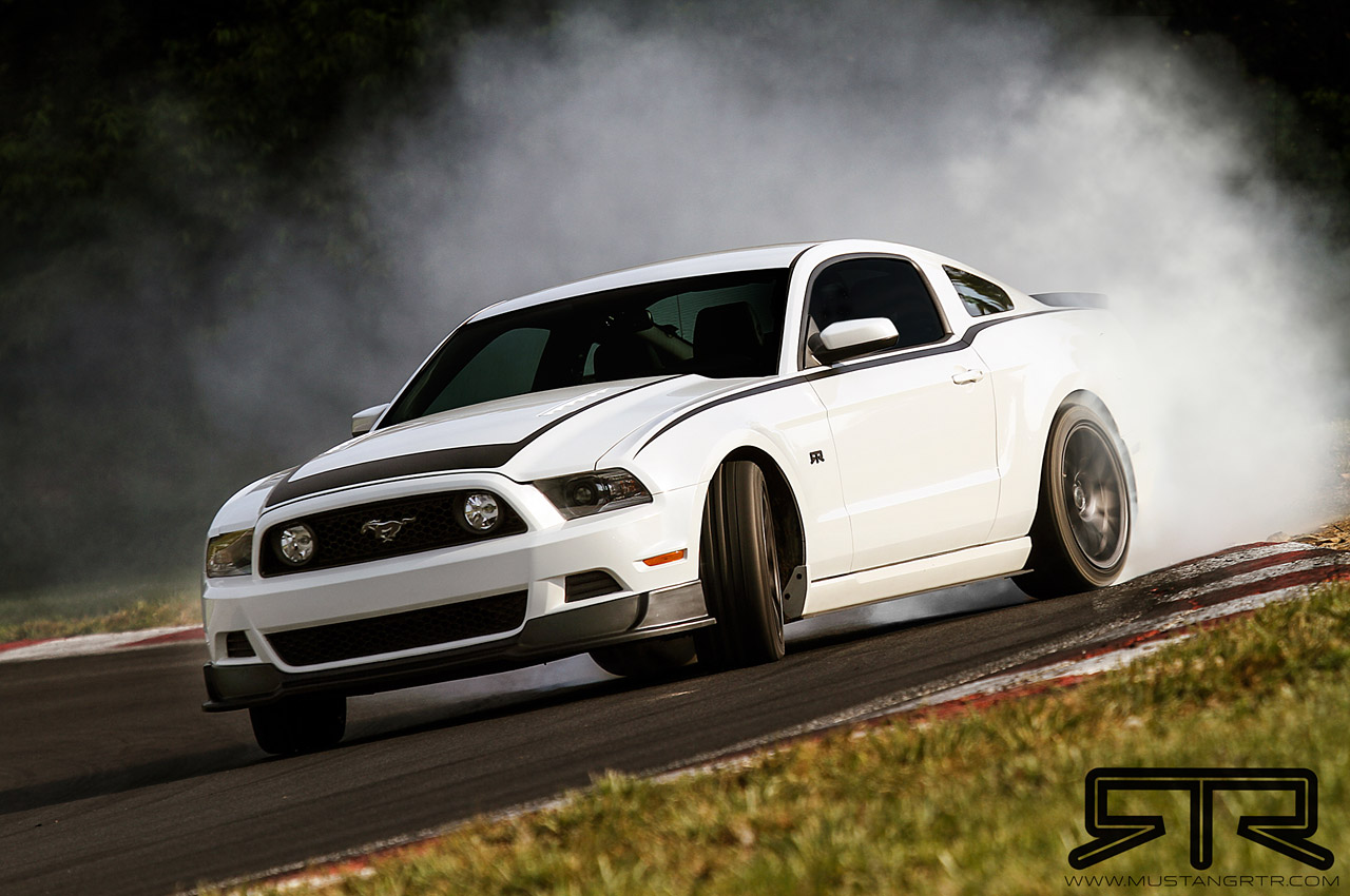 Vaughn Gittin Jr Reveals 2013 Mustang Rtr W Video
