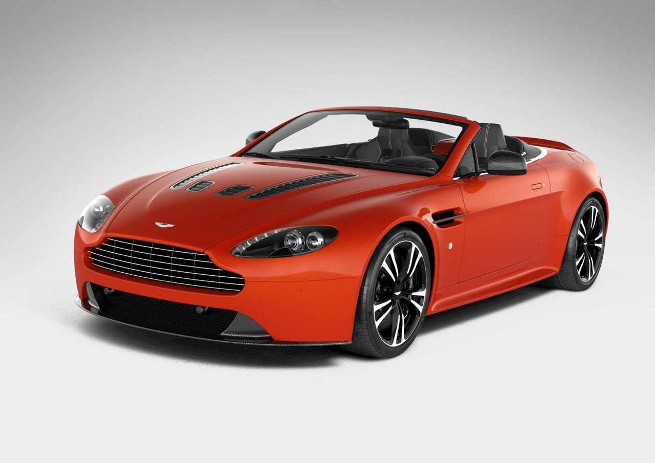 Aston Martin V12 Vantage Roadster Revealed Early Autoblog