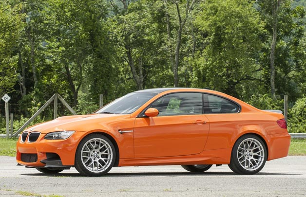 BMW M3 Lime Rock Park Edition - front three-quarter view, orange