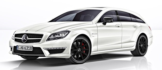 Report: Mercedes-Benz CLS63 AMG Shooting Brake leaks out - Autoblog